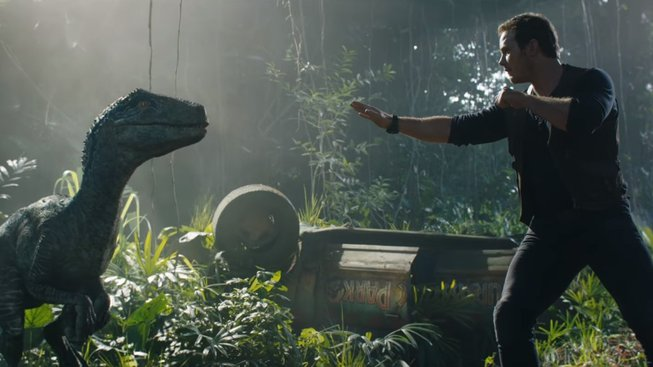 jurassic world the fallen kingdom chris pratt