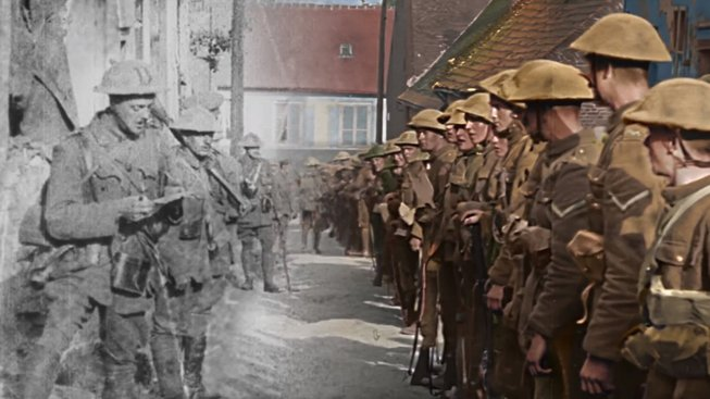 peter jackson world war 1 film