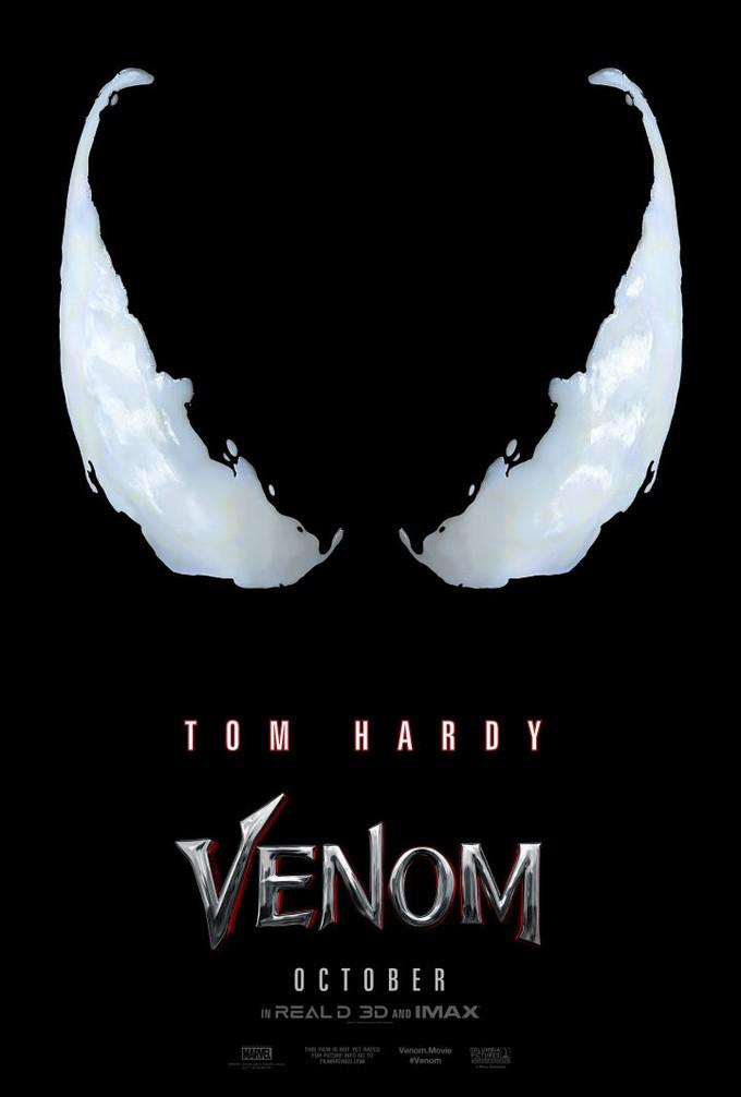 tom hardy venom poster