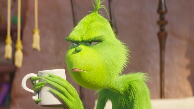 Po Jimu Carreym se v roli zlého zelenáče Grinche představuje Benedict Cumberbatch