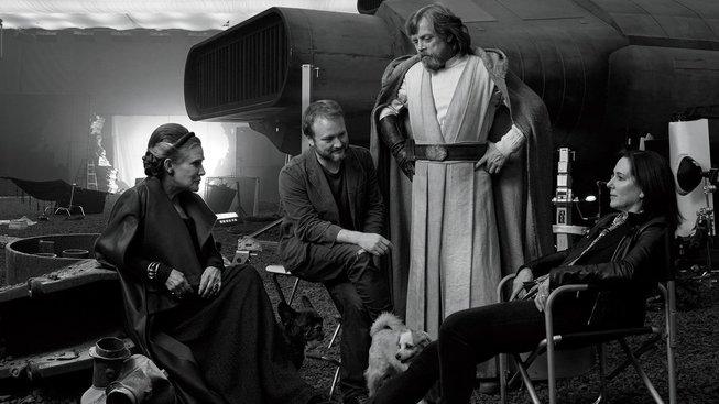 Disney zveřejnila začátek dokumentu o natáčení Star Wars: Poslední z Jediů