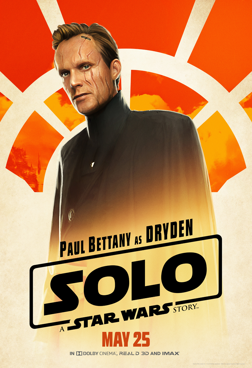 Solo character posters