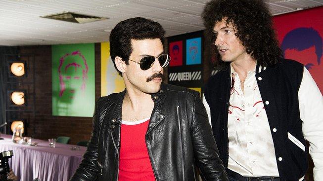 Film o kapele Queen uvidíme v prosinci, na obrázcích jsou skoro jako praví