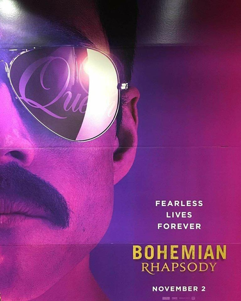 queen bohemian rhapsody movie poster