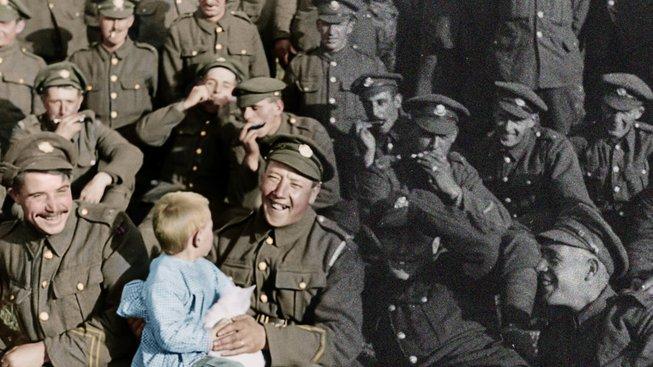 Peter Jackson představuje svoji novinku: dokument o první světové válce