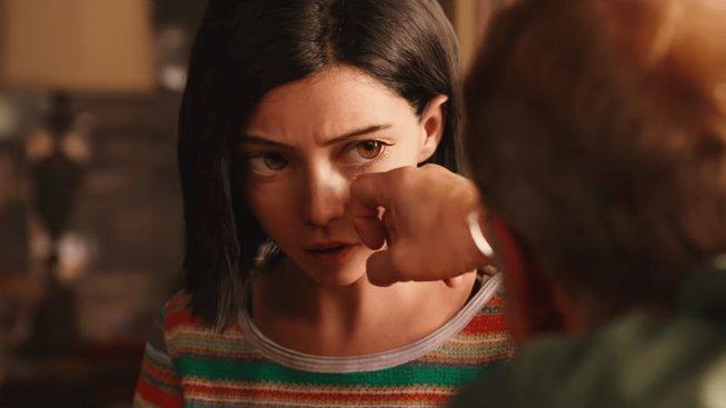 Drsná Alita se předvádí v tom zatím nejnadupanějším traileru plném akce