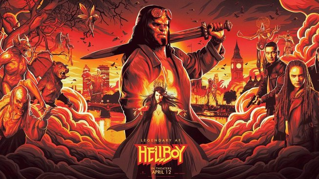 Podívejte se na první trailer na nového Hellboye. Nebo radši ne