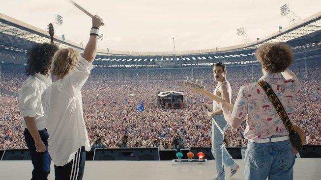 Blu-ray a DVD Bohemian Rhapsody vás už o celý koncert Live Aid neošidí