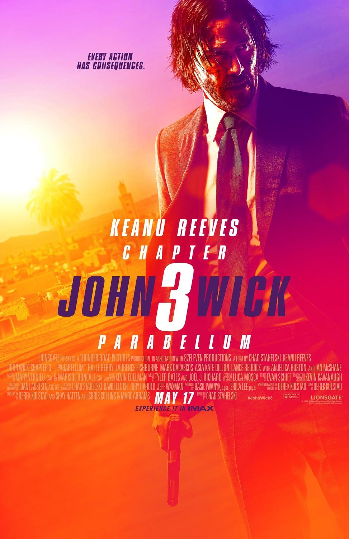 john wick 3 parabellum new poster