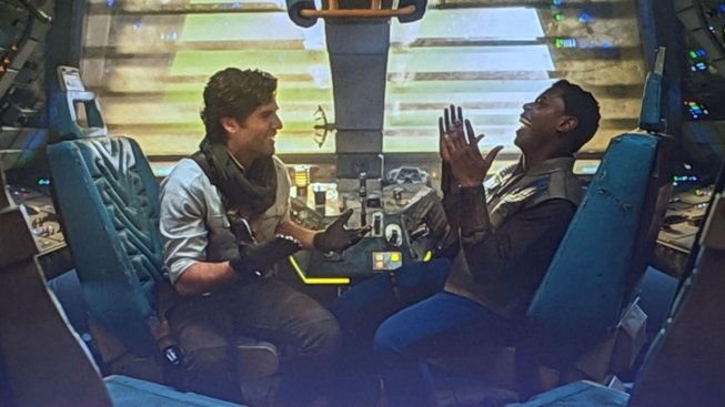 star wars episode 9 the rise of skywalker - poe and finn