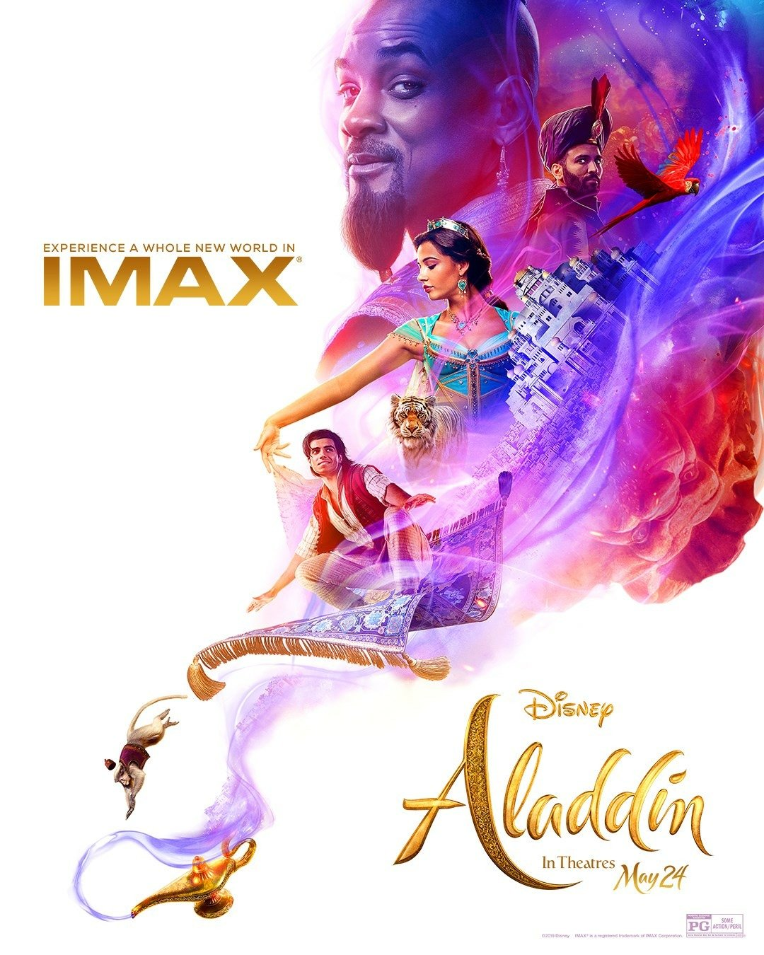 aladin imax poster