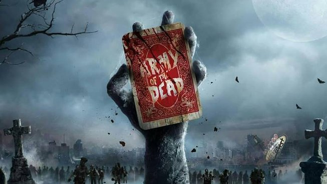 army of the dead netflix poster 2020 movie