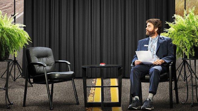 Zach Galifianakis dělá ze své šílené talkshow celovečerní film