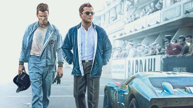 Le Mans '66 : Christian Bale a Matt Damon proti sobě a zároveň spolu