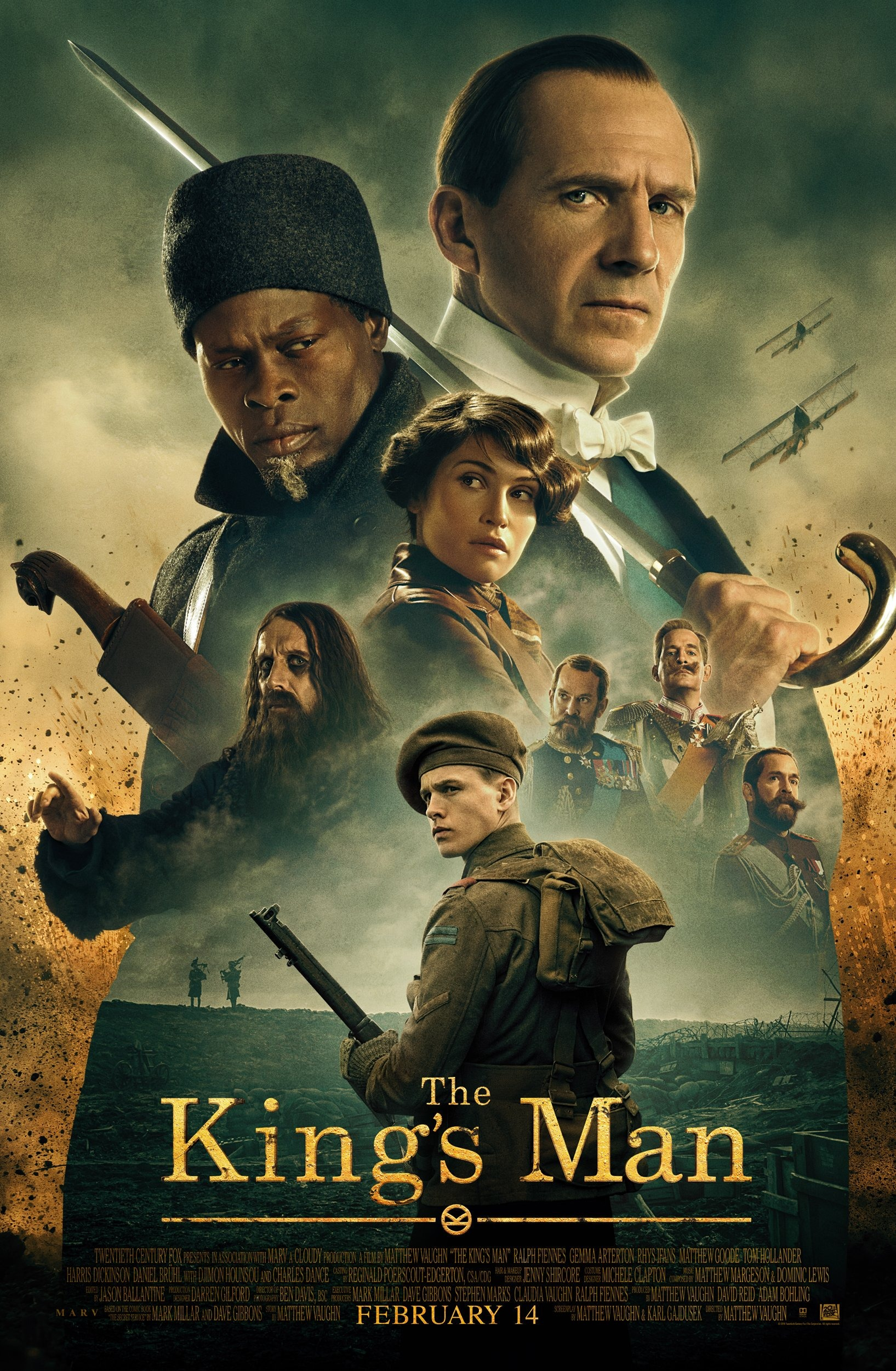 the kings man poster 2020