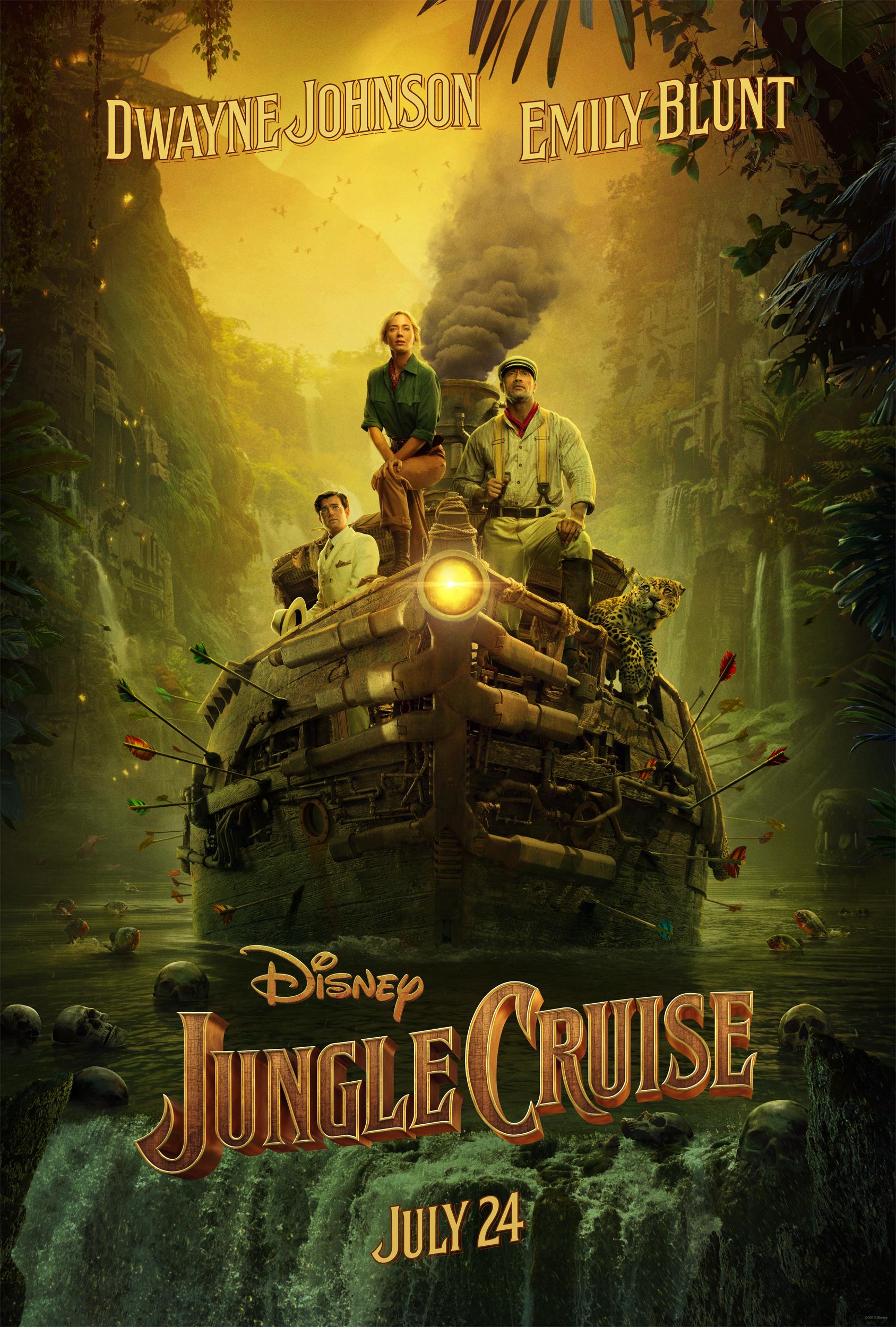 expedice dzungle jungle cruise dwayne johnson emily blunt disney