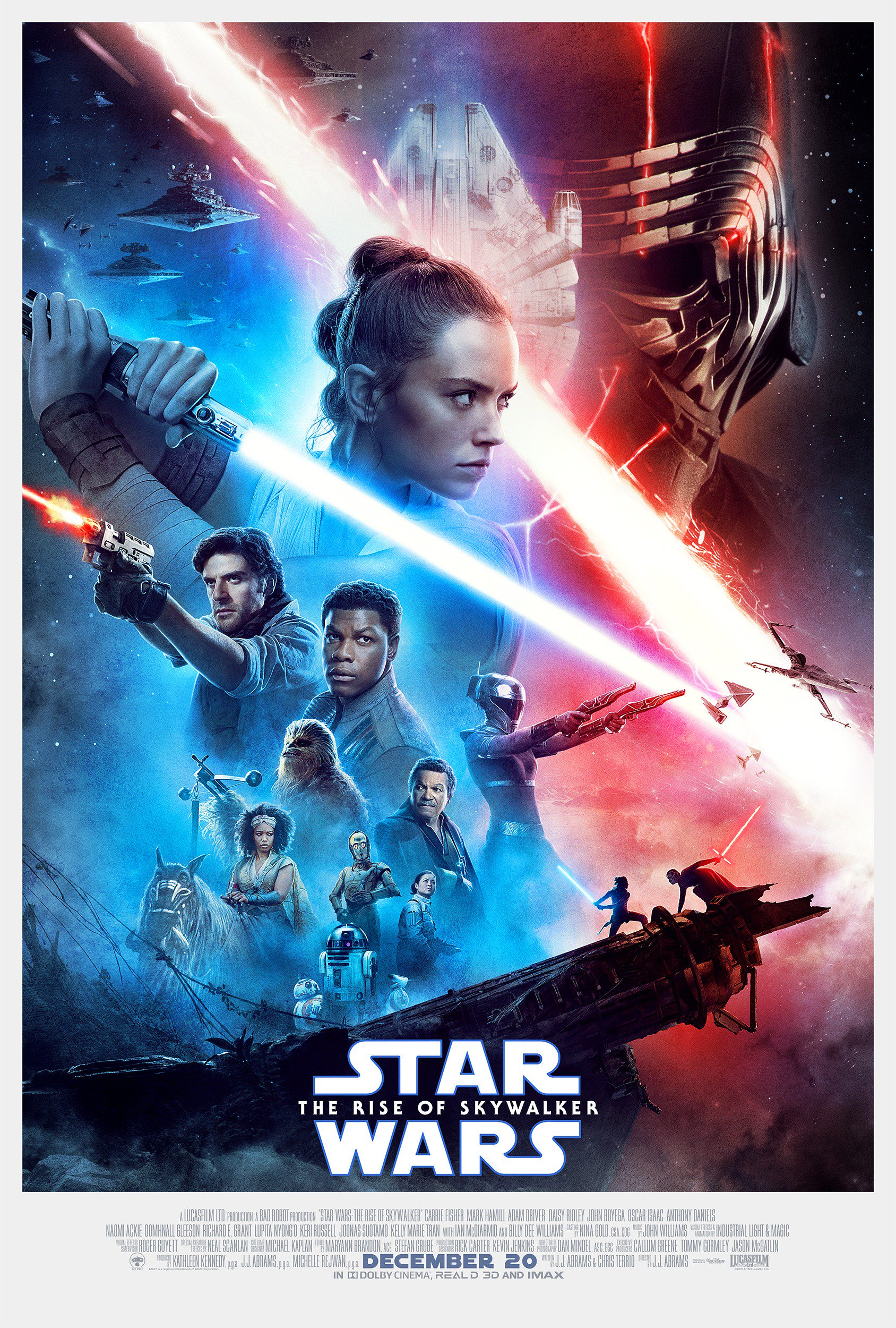 star wars vzestup skywalkera plakat
