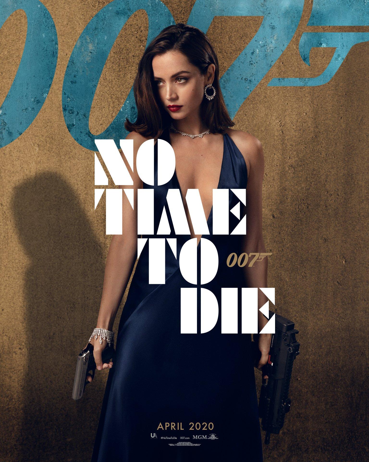 no time to die bondgirl
