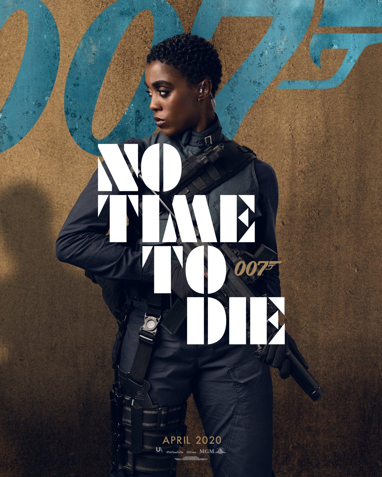 no time to die lashana lynch 007 bond