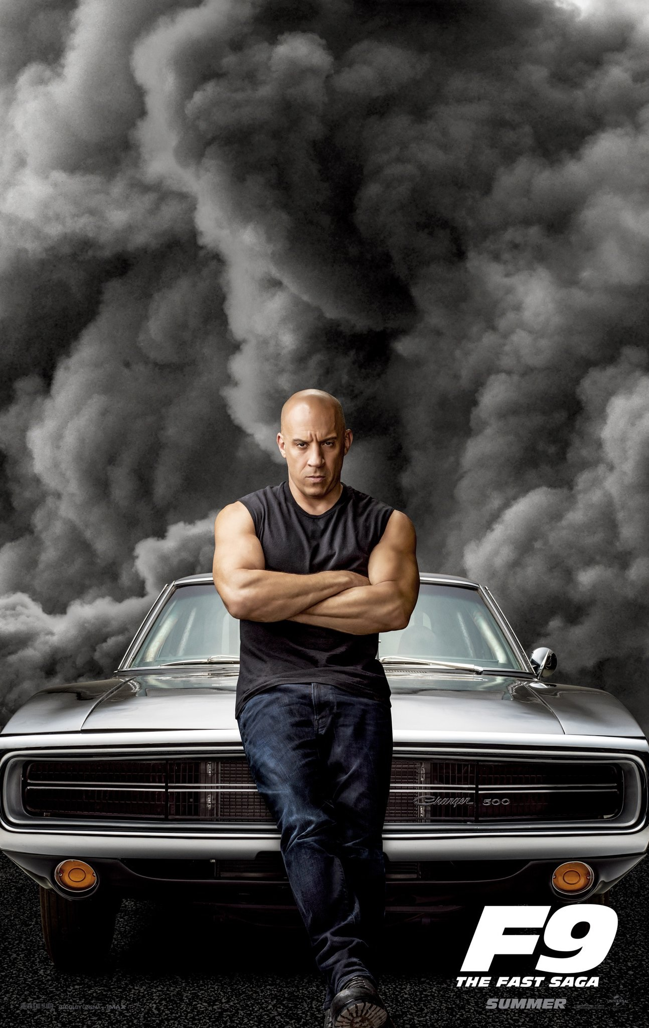 rychle a zbesile 9 vin diesel