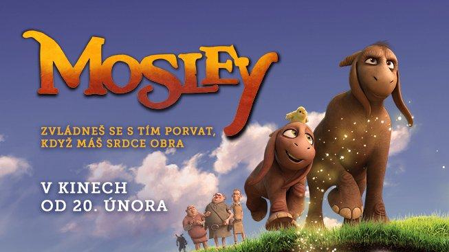 MOSLEY – nový animovaný film se chystá do kin