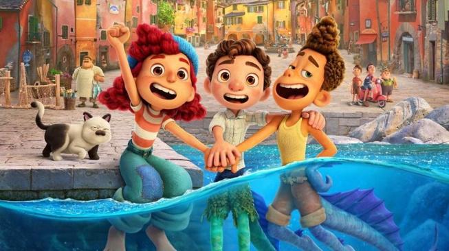 Disney připomíná nový středomořský animák Pixaru – Luca
