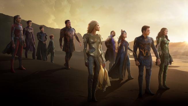 Marvel láká na rozmáchlé Eternals finálním trailerem